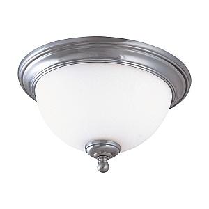 Nuvo Lighting 60 2564 Glenwood 1 Light 13w Fluorescent Brushed Nickel Close To Ceiling Fixture Iqlightingfixtures